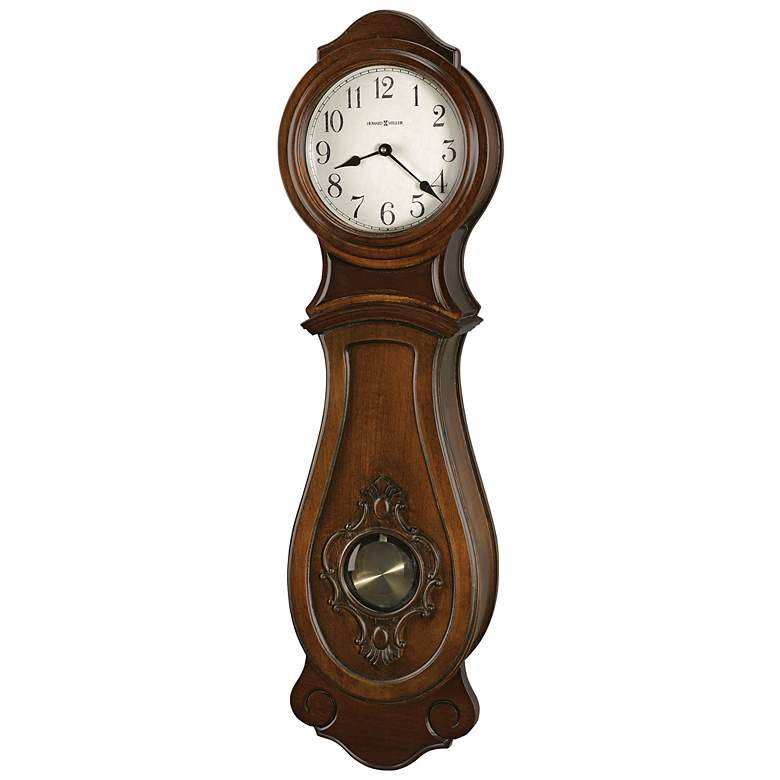 "Howard Miller Joslin 31"" High Wall Clock"