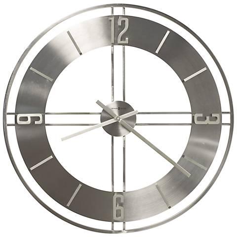 """Howard Miller Stapleton 30"""" Round Wall Clock"""