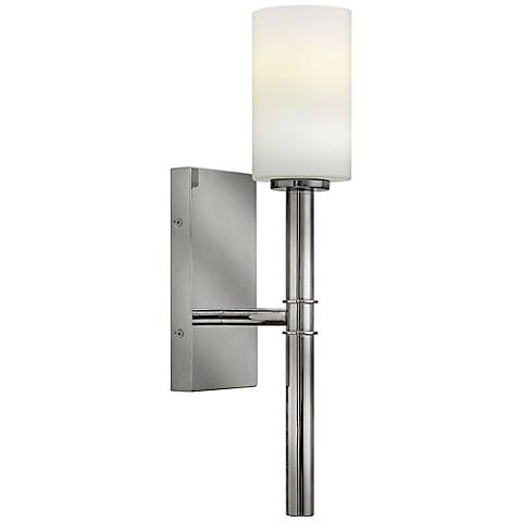 Hinkley Margeaux Polished Nickel One-Light Wall Sconce