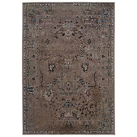 Oriental Weavers Revival 551Q Grey Area Rug