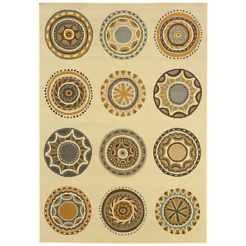 Oriental Weavers Bali Collection 3162U Indoor-Outdoor Rug