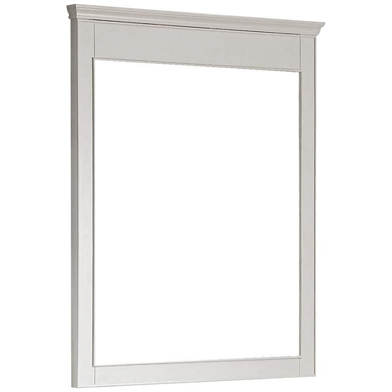 "Avanity Windsor 34"" x 38"" Large White Wall Mirror"