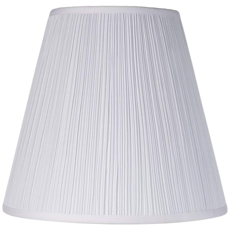 Brentwood Mushroom Pleated Shade 9x16x14.5 (Spider)