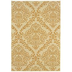 "Oriental Weavers Bali Collection 8424J 3'7""x5'6"" Area Rug"