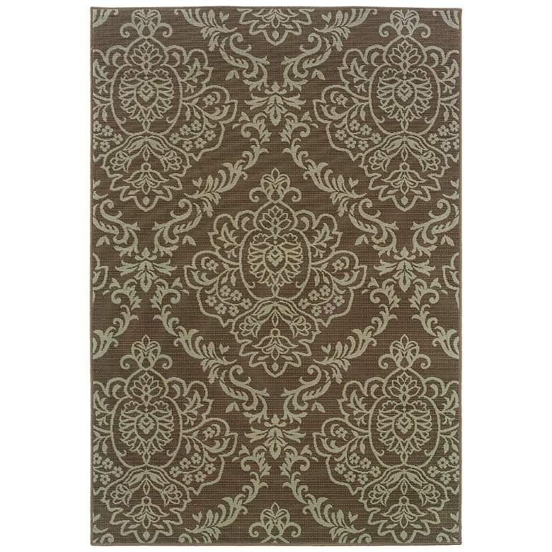 Oriental Weavers Bali Collection 8424P Indoor-Outdoor Rug