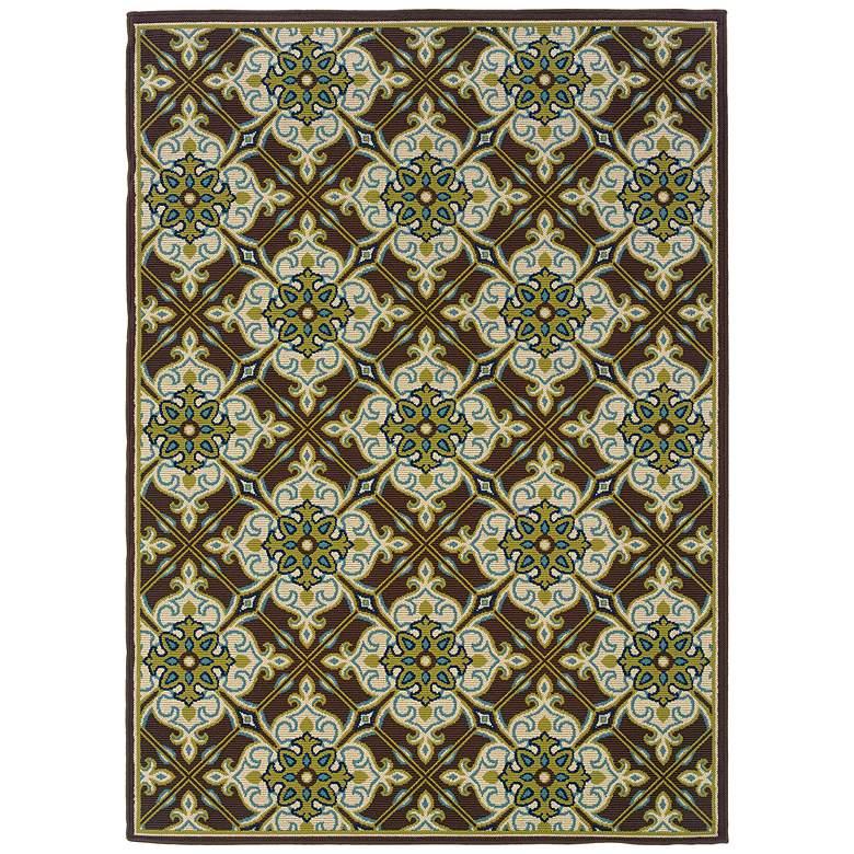 Oriental Weavers Caspian Collection 1005D Indoor-Outdoor Rug