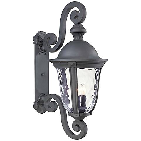 "Ardmore 31 1/2"" High Black Outdoor Wall Light"