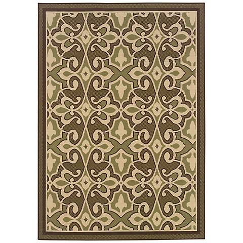 Oriental Weavers Montego Collection 2335G Indoor-Outdoor Rug