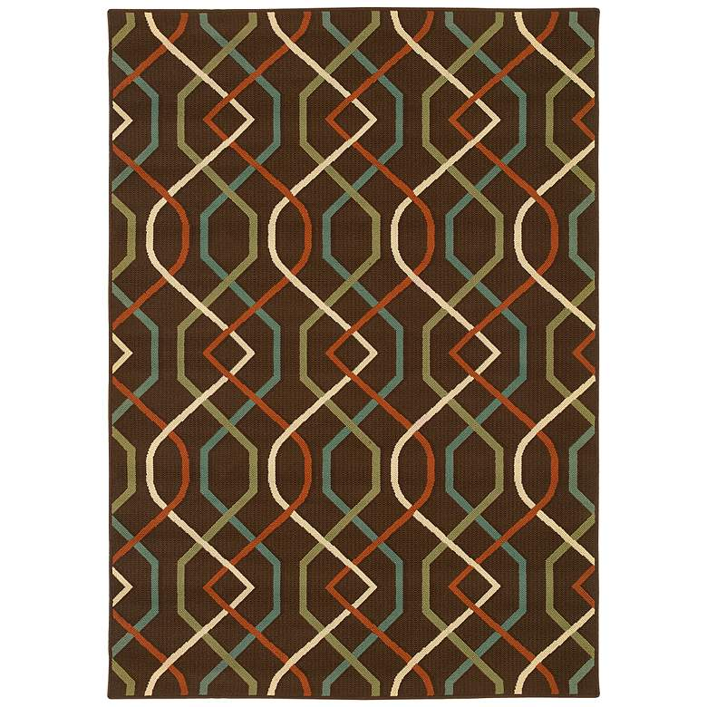 """Oriental Weavers Montego Collection 896N6 5'3""""x7'6"""" Rug"""
