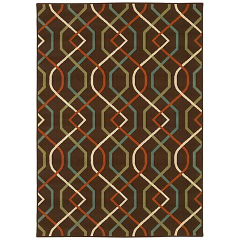 Oriental Weavers Montego Collection 896N6 Indoor-Outdoor Rug