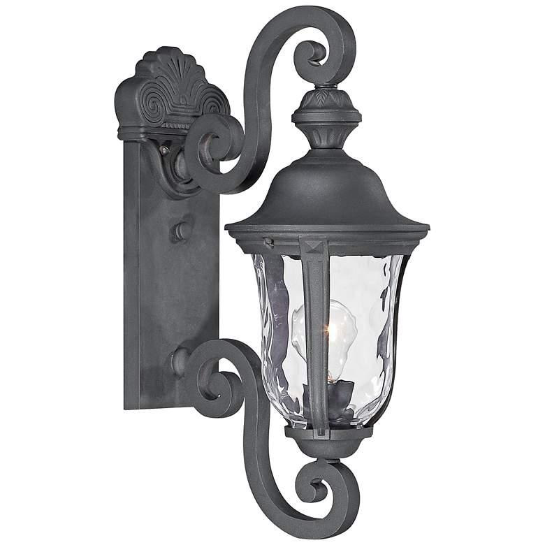 "Ardmore 19 3/4"" High Black Outdoor Wall Light"