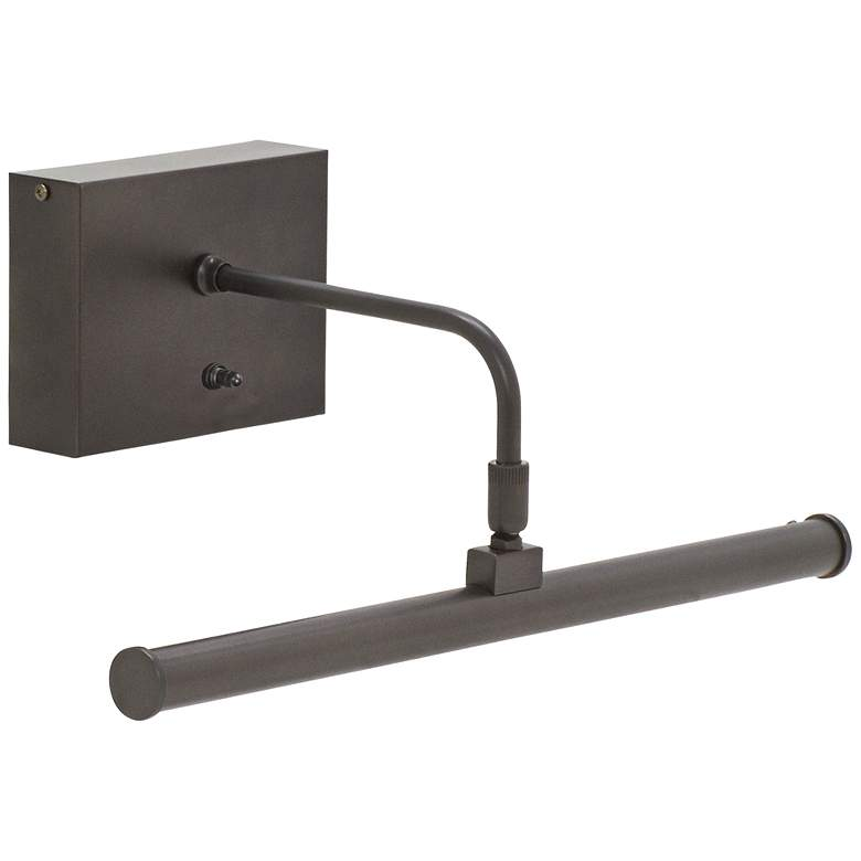"""House of Troy 12 1/2"""" Wide Bronze Battery LED Picture Light"""