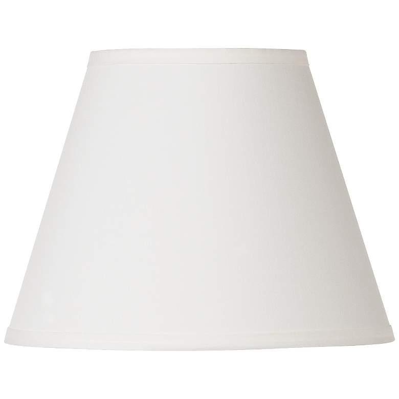 Off White Lamp Shade 6x11x8.5 (Spider)