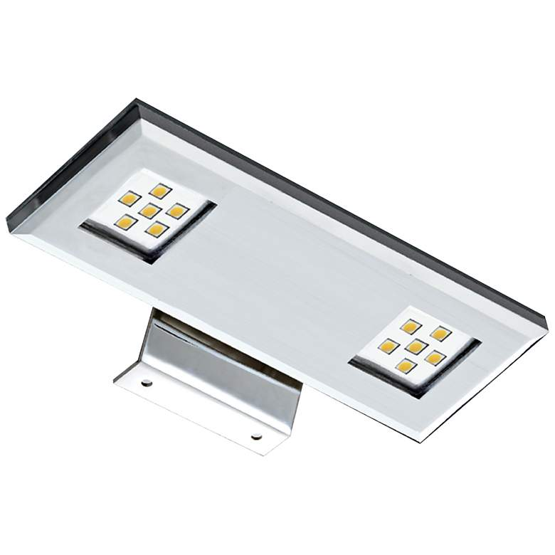 """7 1/4"""" Wide Dual Chrome LED Picture Light"""
