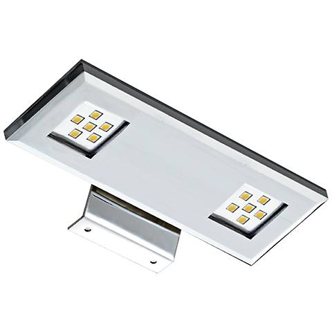 "7 1/4"" Wide Dual Chrome LED Picture Light"