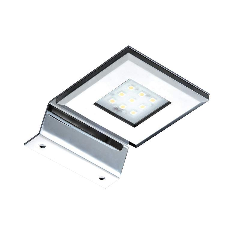 "LED 3 3/4"" Wide Chrome Picture Light"
