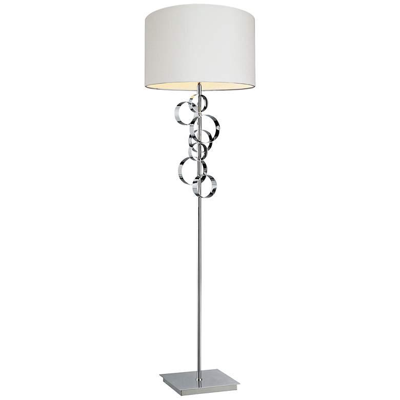 """Avon 60"""" HIgh Chrome Finish Floor Lamp"""