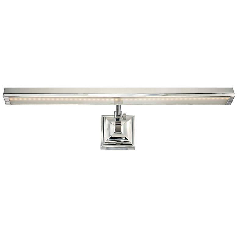 """WAC Hemmingway Polished Nickel 24"""" Wide LED Picture Light"""