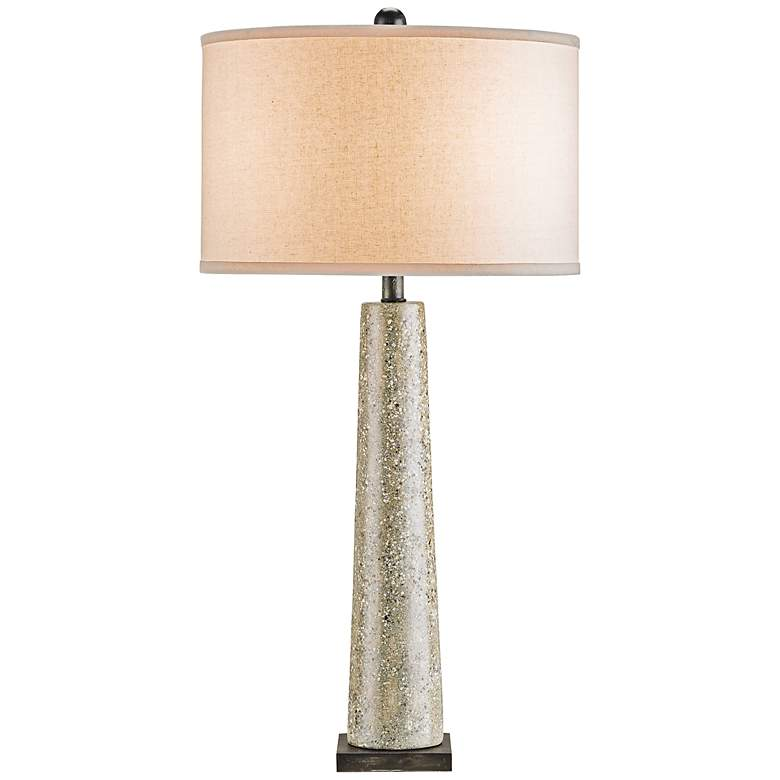 Currey and Company Epigram Polished Concrete Table Lamp