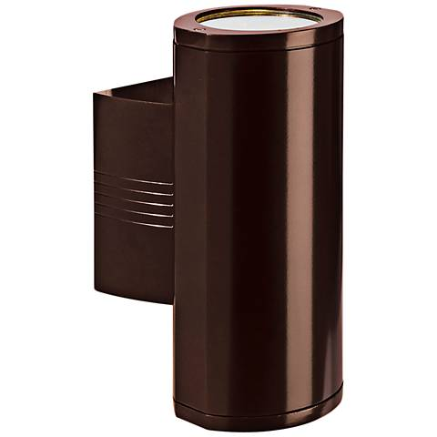"Access Trident Collection 14"" High Bronze Wallwasher"