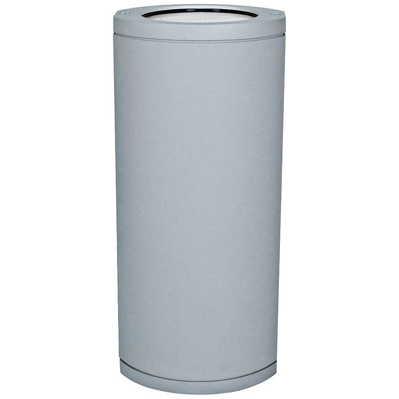 """Access Trident Collection 14"""" High Satin Gray Wallwasher"""