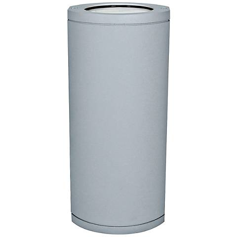 "Access Trident Collection 14"" High Satin Gray Wallwasher"
