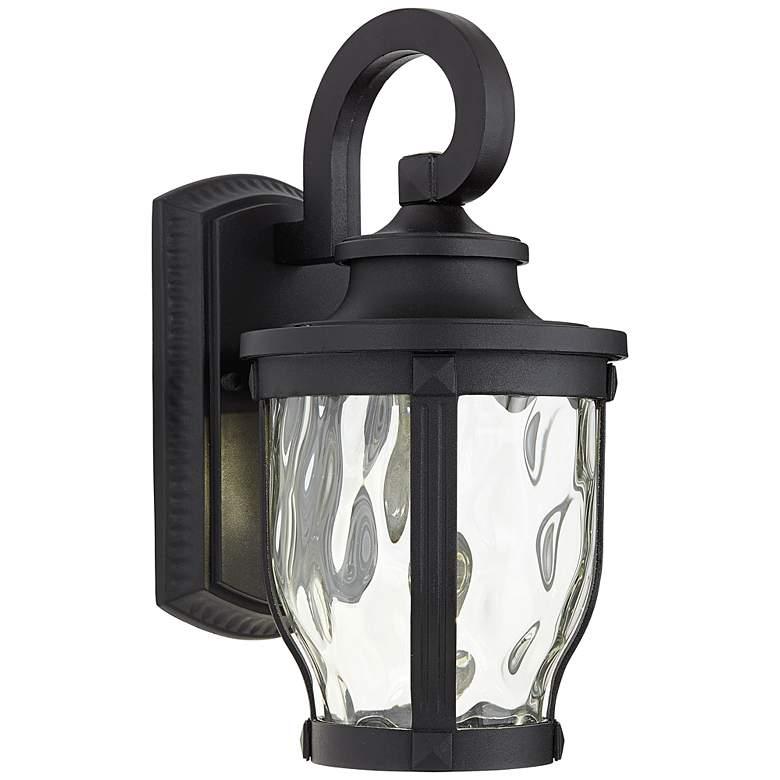 """Merrimack 12 1/4"""" High Black LED Outdoor Wall Light"""