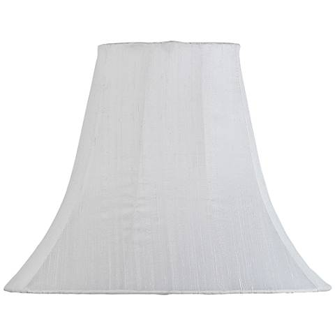 Large White Bell Lamp Shade 5x12x9 (Spider)