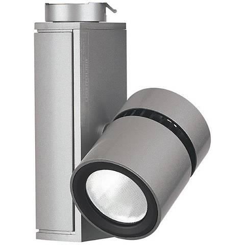 Lightolier aluminum 10 watt led micro cylinder track light 2w222 lightolier aluminum 10 watt led micro cylinder track light aloadofball Images