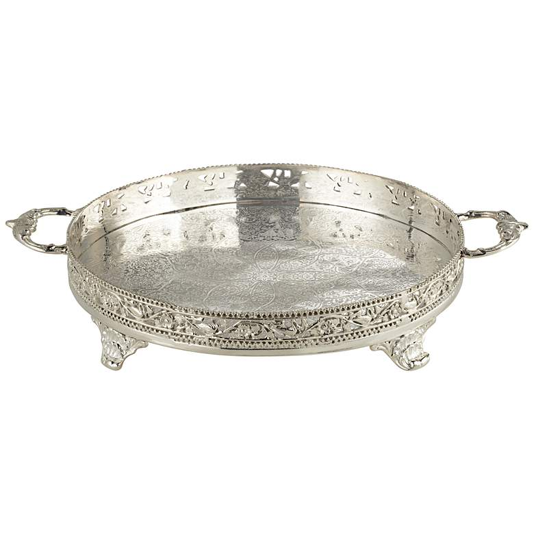 Valetti Silver Plated Serving Tray