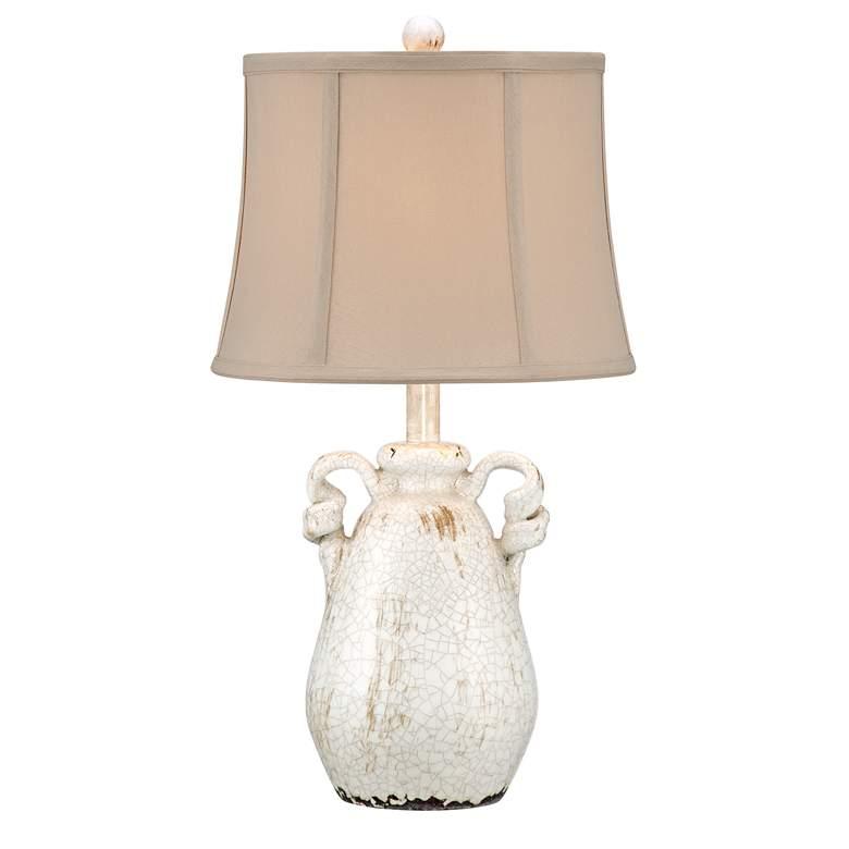 Sofia Ivory Ceramic Table Lamp