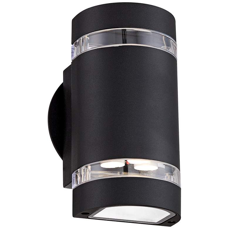 "Wynnsboro 7 3/4"" High Black LED Outdoor Up and Downlight"