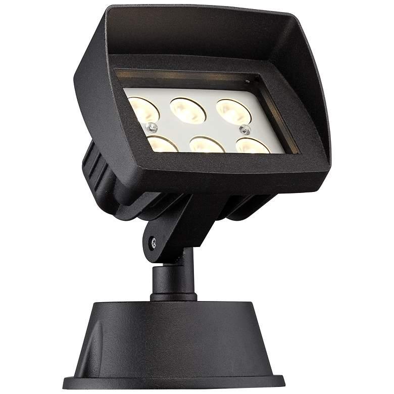 """Super Duty Eastham 8"""" High Black LED Landscape Flood Light"""