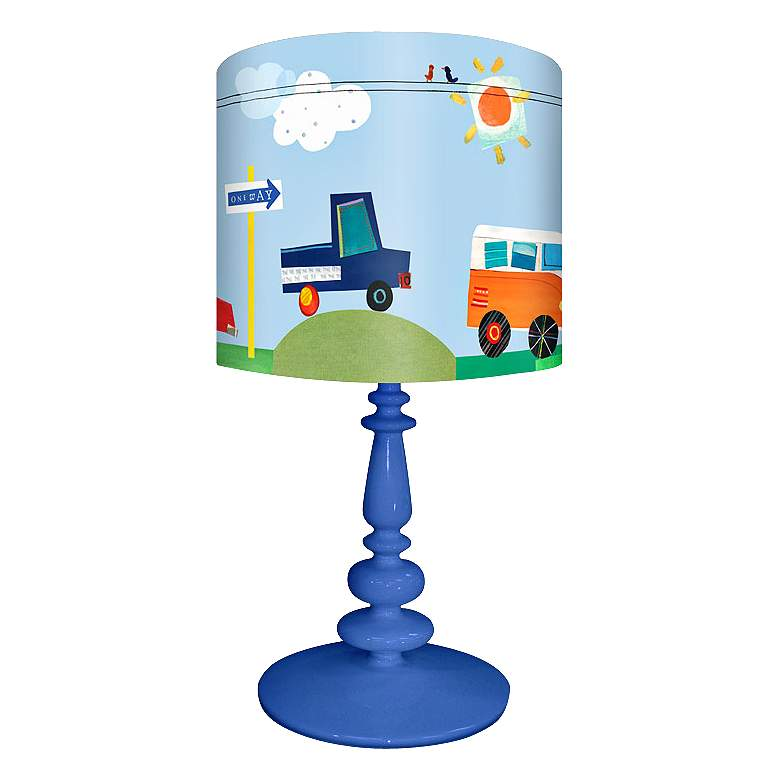 On The Road Again Children's Table Lamp