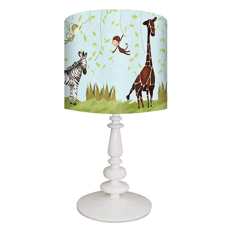 Oopsy Daisy Jungle Fun Children's Table Lamp