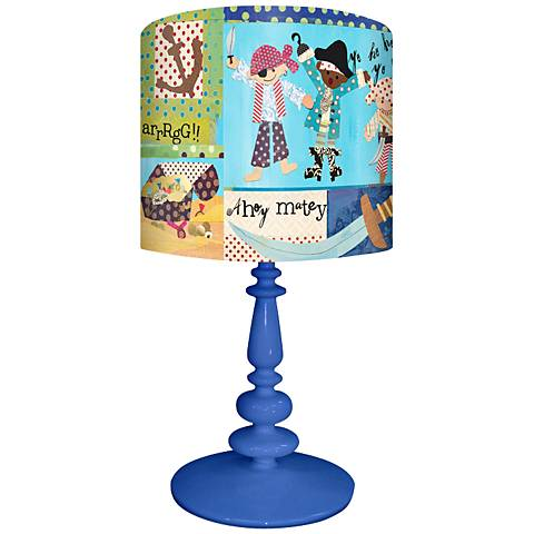 It's A Pirate's Life For Me Children's Table Lamp