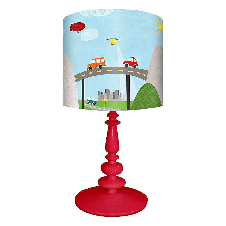 Oopsy Daisy From Here To There Children's Table Lamp