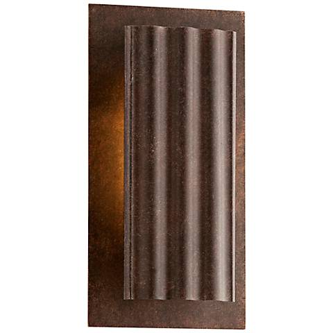 "Dwell Country Rust 10 3/4"" High LED Outdoor Wall Light"