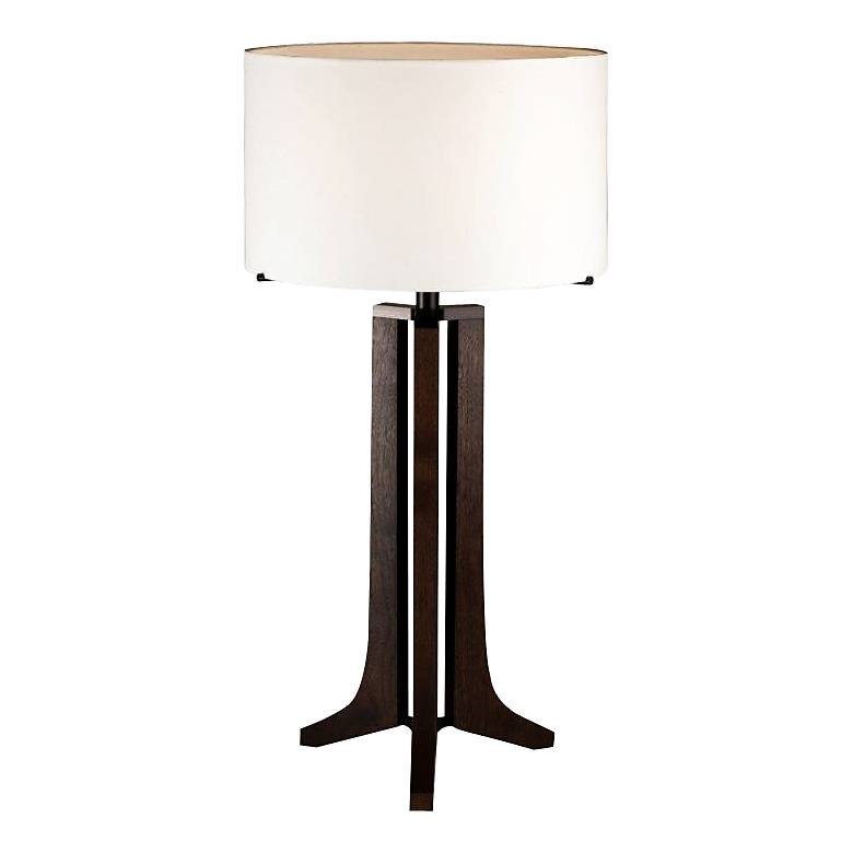 Cerno Forma Oiled Walnut LED Table Lamp