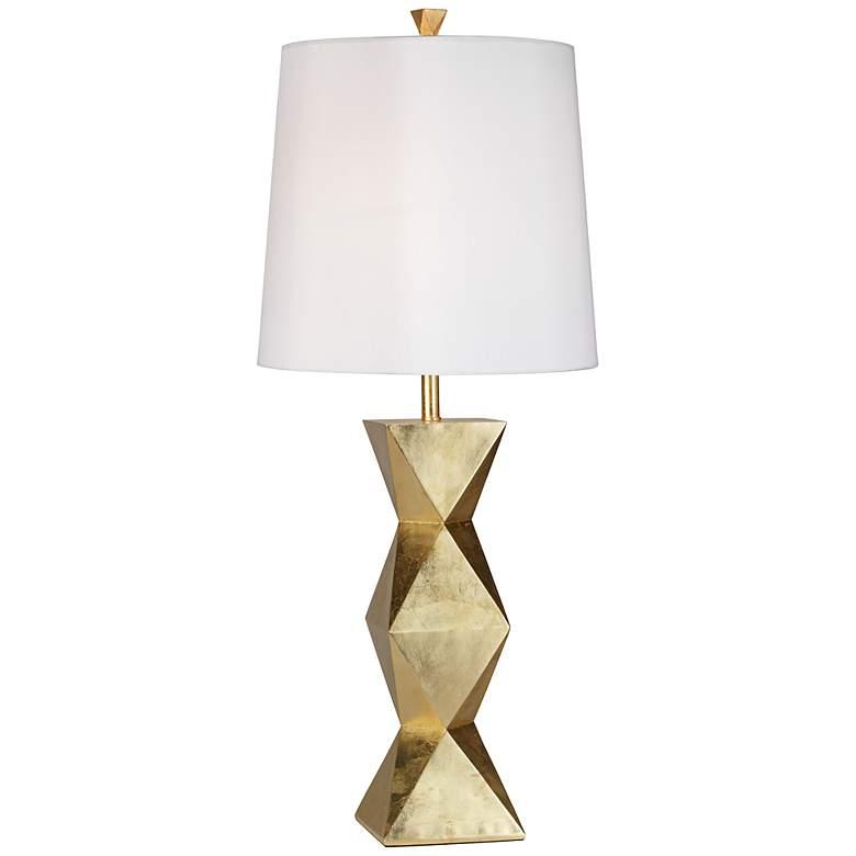 Ripley Gold Finish Modern Table Lamp