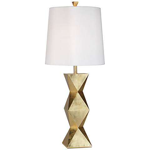 Ripley gold table lamp
