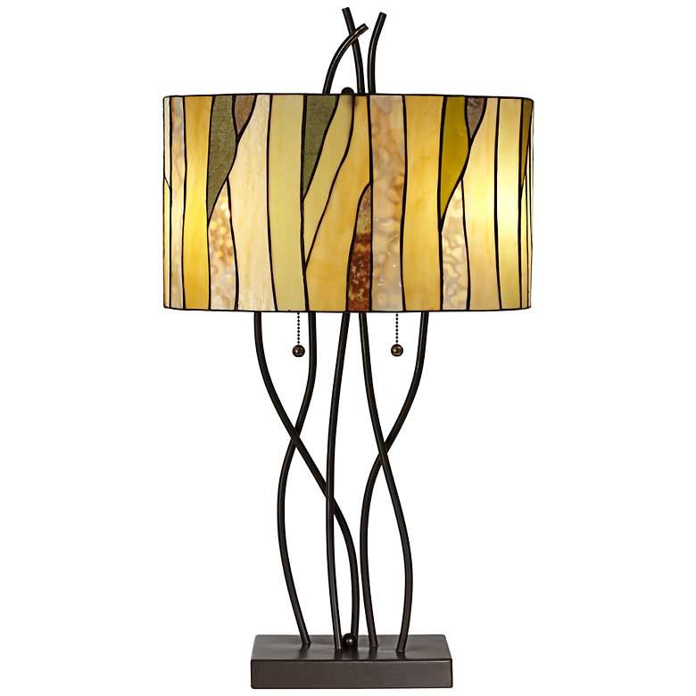 Robert Louis Tiffany Oak Vine Table Lamp
