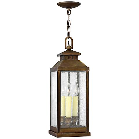 "Hinkley Revere 20 1/4"" High Sienna Outdoor Hanging Light"