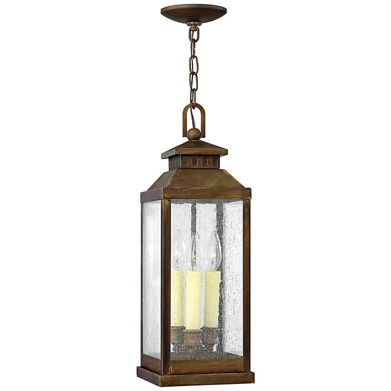 "Hinkley Revere 20 1/4"" High Sienna Outdoor Hanging Light"