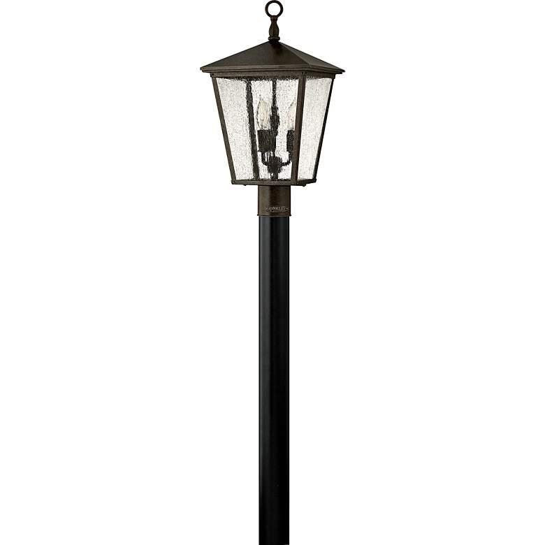 """Hinkley Trellis 21"""" High Bronze Outdoor Post Light"""