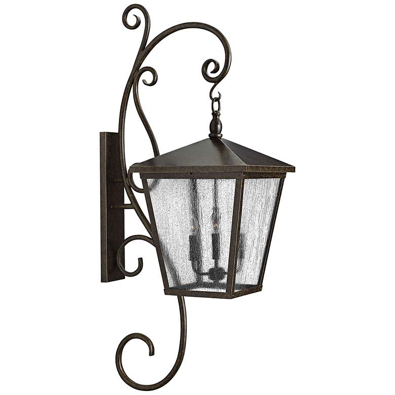"Hinkley Trellis 52"" High Bronze Outdoor Wall Lantern"