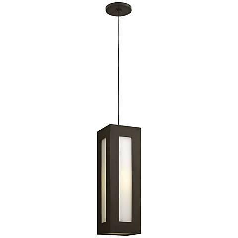 """Hinkley Dorian 18 1/4"""" High Bronze Outdoor Hanging Light"""