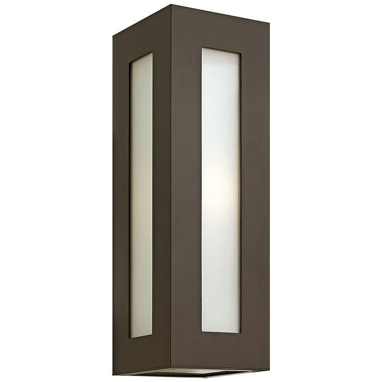 """Hinkley Dorian 18 1/4"""" High Bronze Outdoor Wall Light"""
