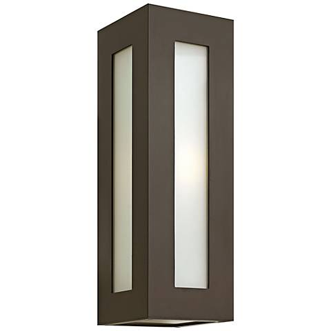 "Hinkley Dorian 18 1/4"" High Bronze Outdoor Wall Light"