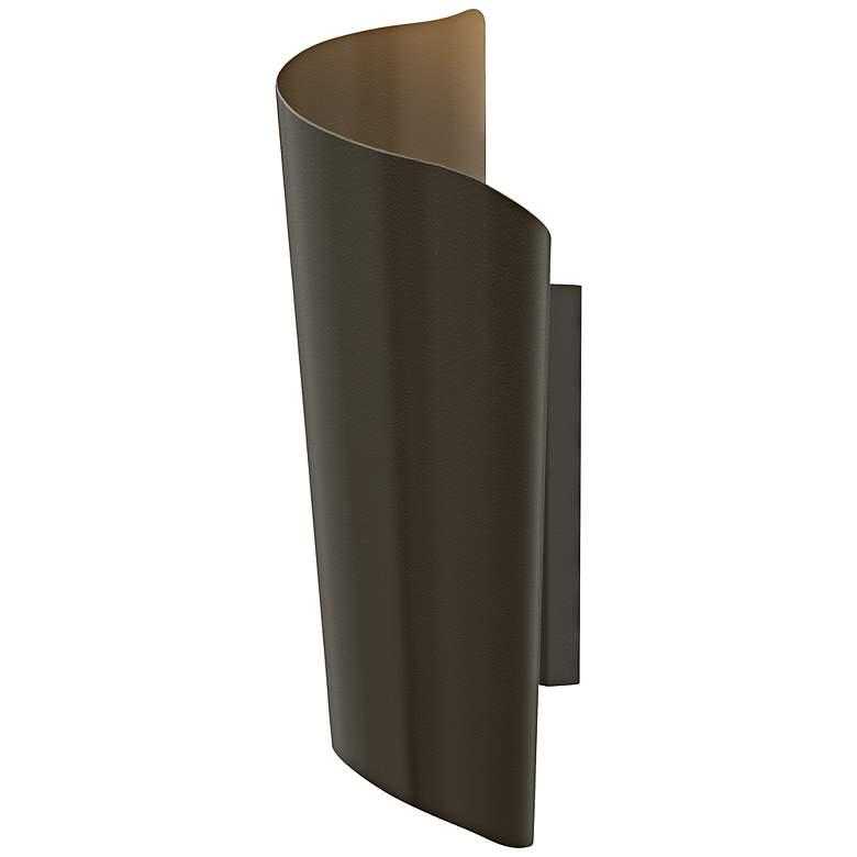 "Hinkley Surf 19"" High Bronze Outdoor Wall Light"